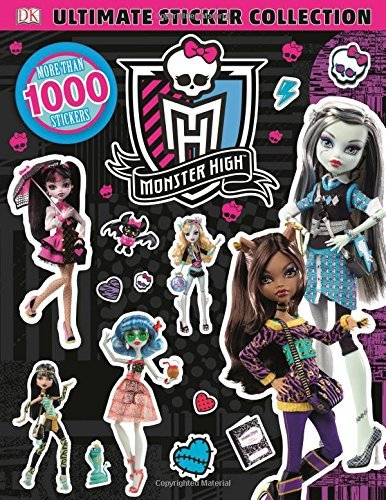 Dk Ultimate Sticker Collection Monster High