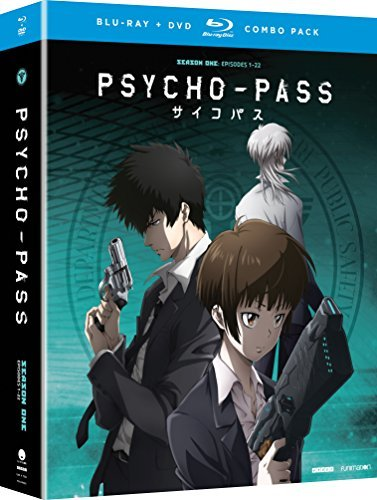 Psycho Pass Season 1 Blu Ray DVD