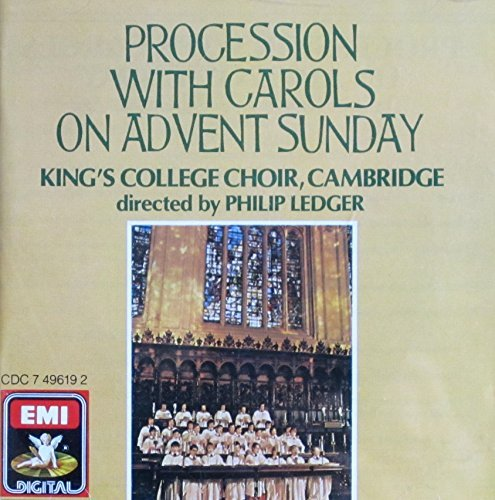 King's College Choir Procession With Carols On Advent Sunday