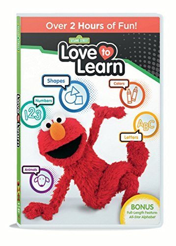 Sesame Street Love To Learn DVD