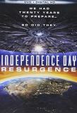 Independence Day Resurgence Hemsworth Goldblum Pullman DVD Pg13