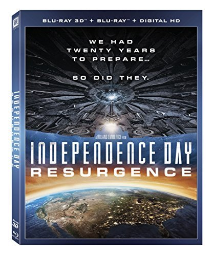 Independence Day Resurgence Hemsworth Goldblum Pullman 3d Blu Ray Dc Pg13
