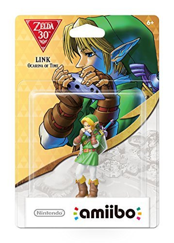 Amiibo Zelda Series Link Ocarina Of Time Amiibo