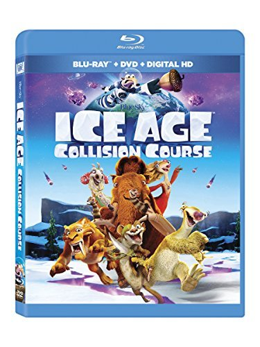 Ice Age Collision Course Ice Age Collision Course Blu Ray DVD Dc Pg