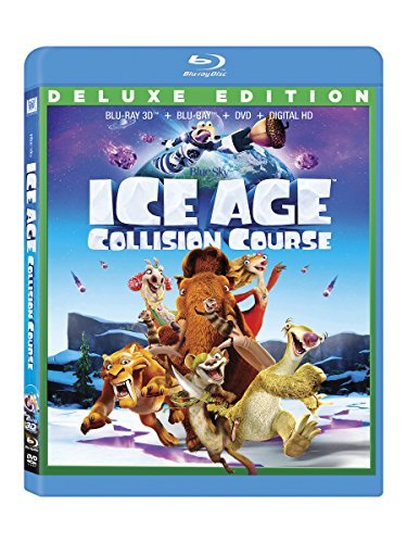 Ice Age Collision Course Ice Age Collision Course 3d Blu Ray DVD Dc Pg