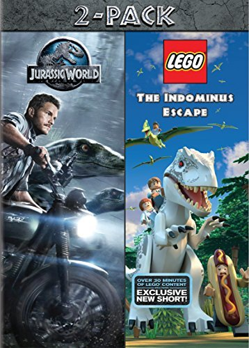 Lego Jurassic World Jurassic World Double Feature DVD