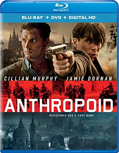 Anthropoid Dornan Murphy Blu Ray DVD Dc R