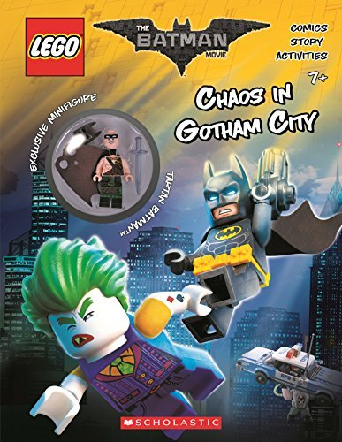 Ameet Studio Chaos In Gotham City (the Lego Batman Movie Activity Book With Minfigure)