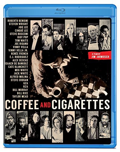 Coffee & Cigarettes Murray Waits Benigni Buscemi Blu Ray R
