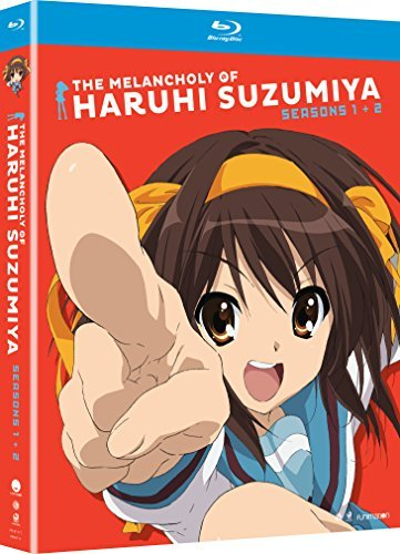 Melancholy Of Haruhi Suzumiya Seasons 1 & 2 Blu Ray