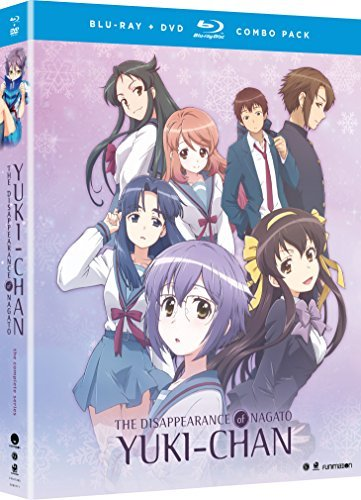 Disappearance Of Nagato Yuki Chan Complete Series Blu Ray DVD