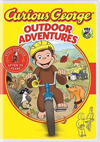 Curious George Outdoor Adventures DVD