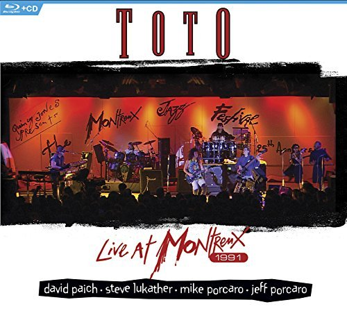 Toto Live At Montreux 1991 Blu Ray CD Combo