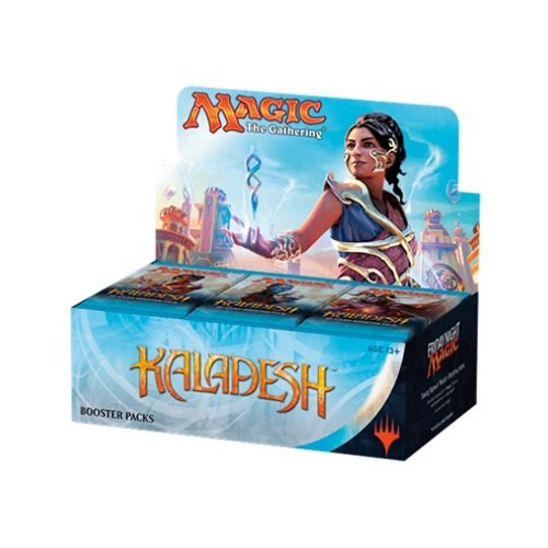 Magic The Gathering Cards Kaladesh Full Display Of 36 Booster Packs Limit 2 Per Person
