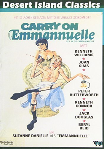 Carry On Emmannuelle (1978) Williams Danielle Connor DVD R R