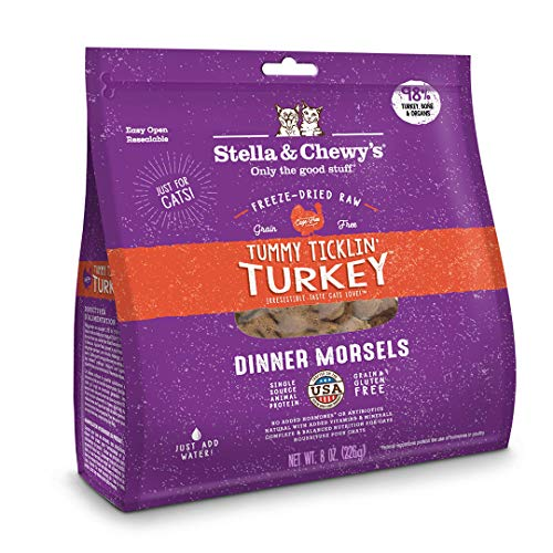 Stella & Chewy's Freeze Dried Turkey Cat 12oz