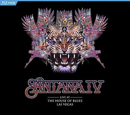 Santana Iv Live At The House Of Blues Las Vegas Blu Ray 2 CD Combo