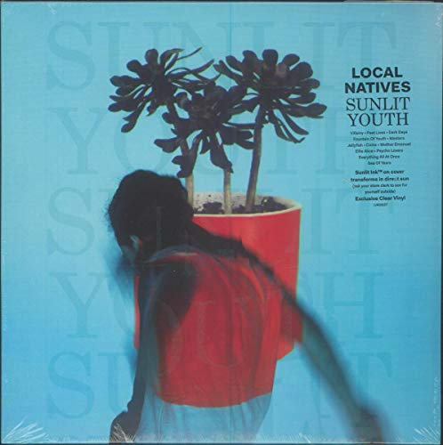 Local Natives Sunlit Youth Indie Exclusive Clear Vinyl Ltd. To 6000