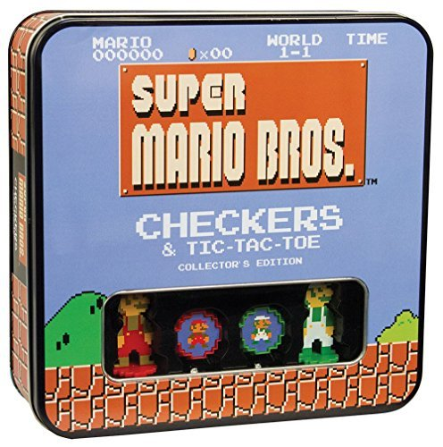 Checkers And Tic Tac Toe Super Mario Bros. Classic
