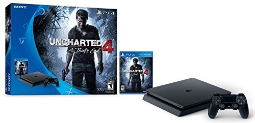 Ps4 System Slim 500gb Uncharted 4 Bundle