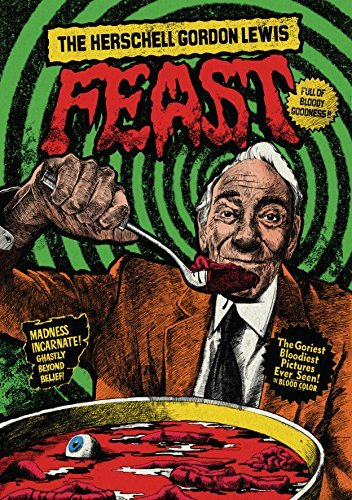 Herschell Gordon Lewis Feast Herschell Gordon Lewis Feast Blu Ray DVD Nr 17 Disc Limited Edition Set