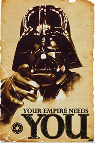 Poster Star Wars Your Empire Needs You