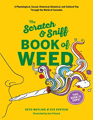 Eve Epstein Scratch & Sniff Book Of Weed