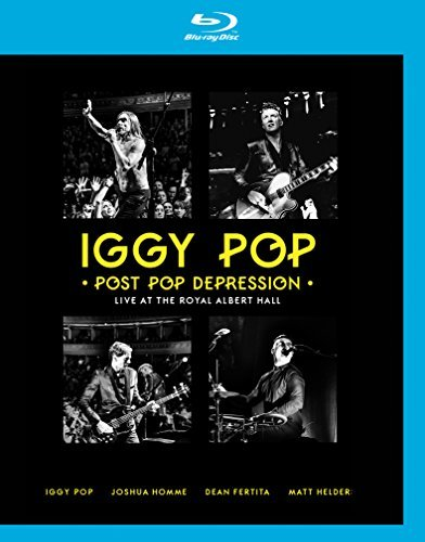 Iggy Pop Post Pop Depression Live At The Royal Albert Hall Blu Ray 2 CD Combo