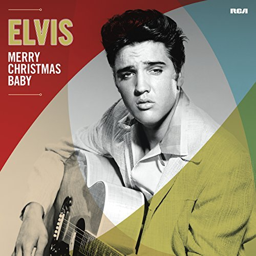 Elvis Presley Merry Christmas Baby (indie Exclusive) Random Clear Red Or Clear Green Vinyl