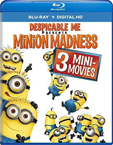 Despicable Me Minion Madness Blu Ray Nr