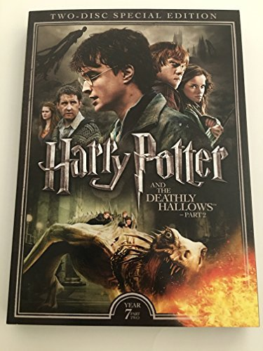 Harry Potter & The Deathly Hallows Part 2 Radcliffe Grint Watson 2 DVD Special Edition
