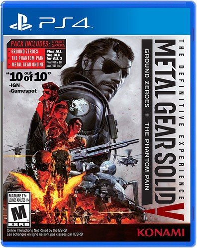 Ps4 Metal Gear Solid V Definitive Experience