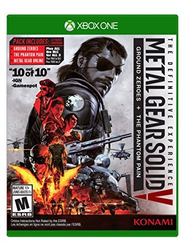 Xbox One Metal Gear Solid V Definitive Experience
