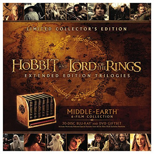 Hobbit Lord Of The Rings Limited Edition Collector's Set Blu Ray Middle Earth