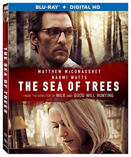 The Sea Of Trees Mcconaughey Watts Watanabe Blu Ray Dc Pg13