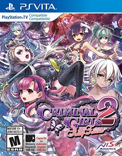 Playstation Vita Criminal Girls 2 Party Favors