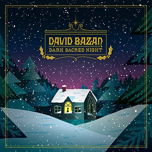 David Bazan Dark Sacred Night (blue W White Snow Vinyl) Limited Edition