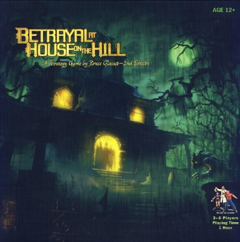 Board Game Betrayal At House On The Hill 2nd Edition