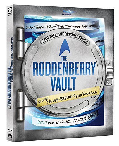 Star Trek Original Series Roddenberry Vault Shatner Nimoy Blu Ray