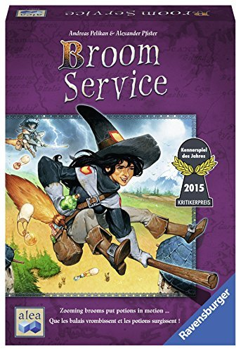 Board Game Broom Service