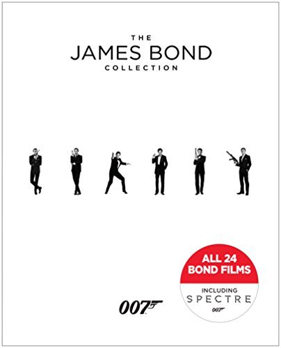 James Bond Collection Blu Ray 24 Film Set
