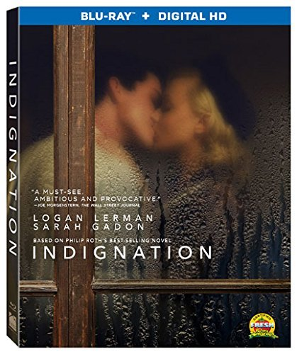 Indignation Lerman Gadon Blu Ray Dc R