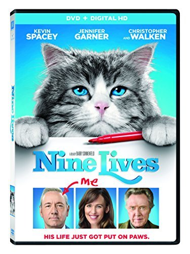 Nine Lives Spacey Garner Walken DVD Dc Pg