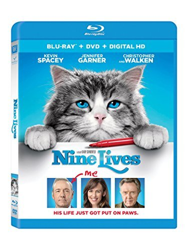 Nine Lives Spacey Garner Walken Blu Ray DVD Dc Pg