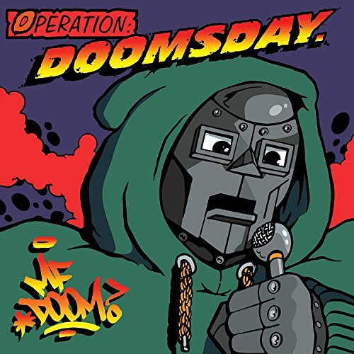Mf Doom Operation Doomsday 2lp Black Vinyl With Poster