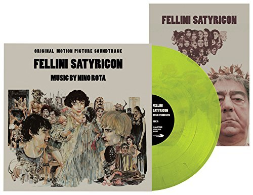 Fellini Satyricon Soundtrack (green Vinyl) Nino Rota Lp
