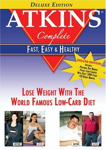 Atkins Complete It's Fast Easy & Healthy (bonu