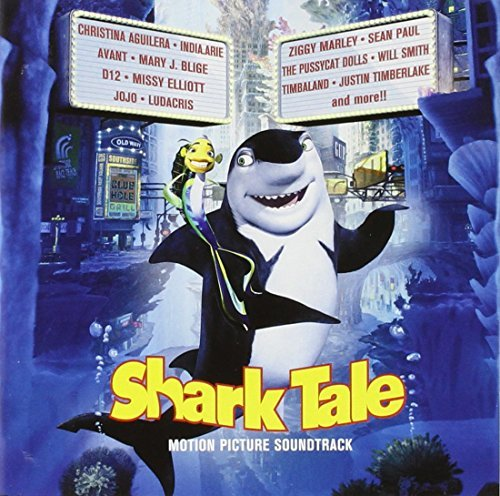 Various Artists Shark Tale Enhanced CD Aguilera Elliott Blige D12