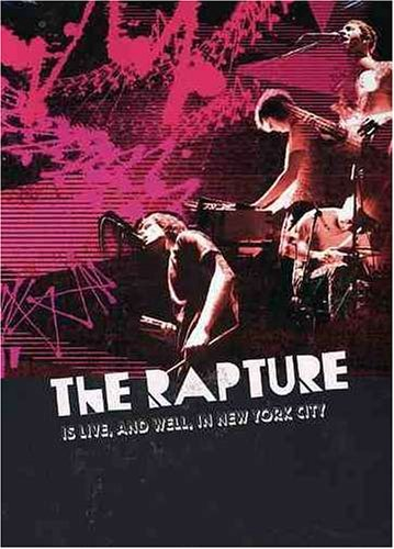 Rapture Is Live & Well In New York Cit Import Can Ntsc (0) Incl. Bonus Track