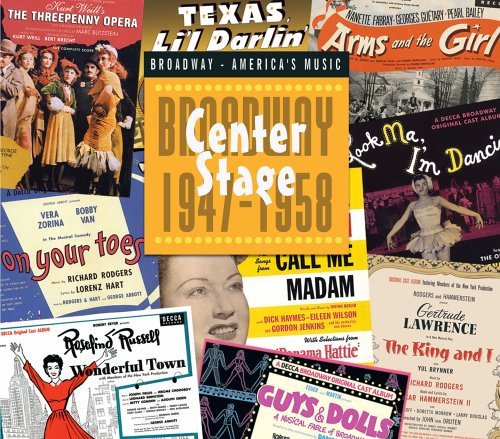 Center Stage Broadway 1947 58 Center Stage Broadway 1947 58 Various